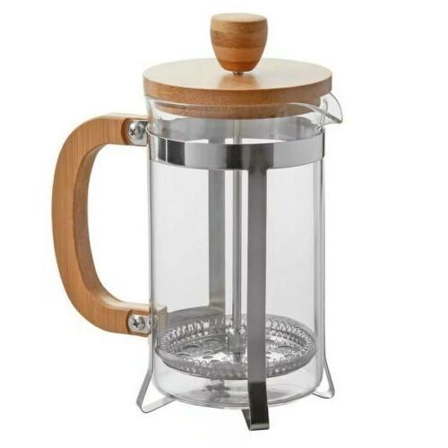 RITUAL FRENCH BAMBOO STAINLESS BOROSILICATE GLASS