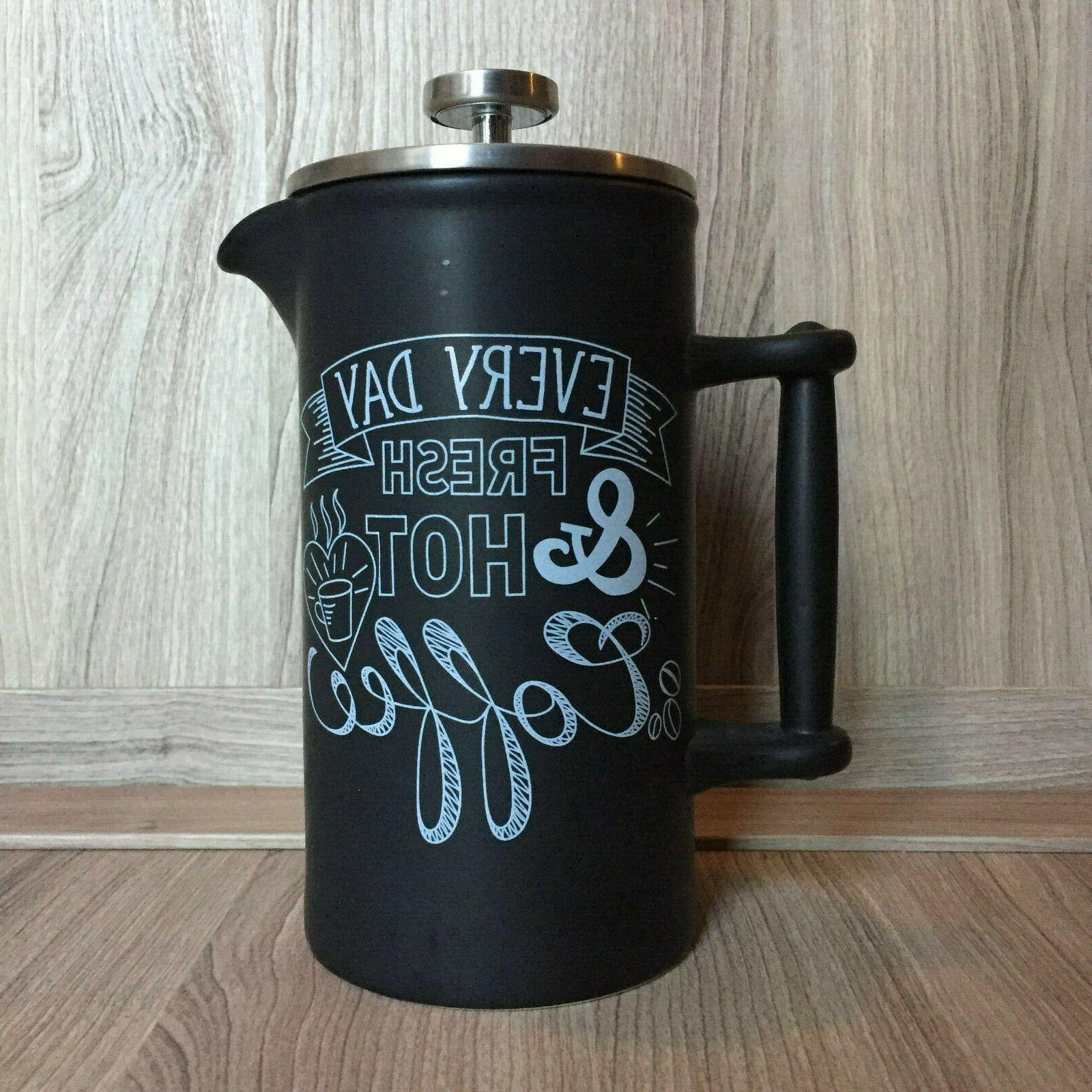 World Market French Ceramic Coffee Chalkboard