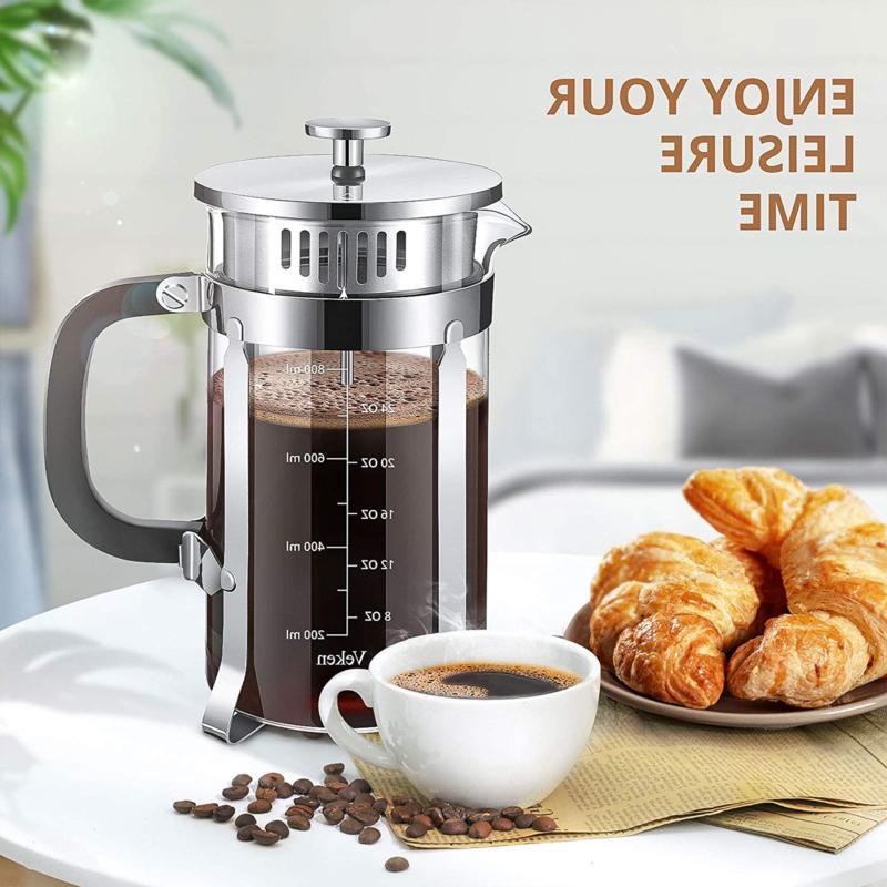 French Press & Tea Maker Bundle