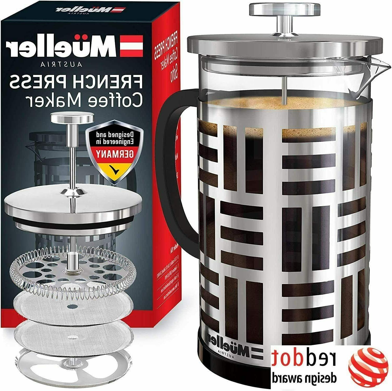 french press coffee maker 8 cups 34