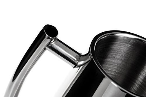 Secura Coffee Maker, Steel 18/10