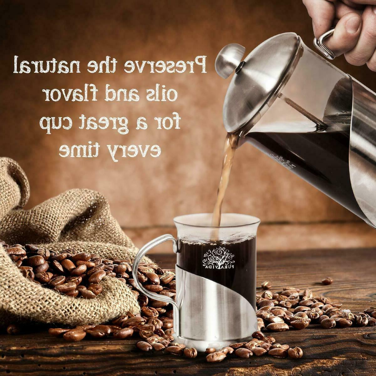 Pura French Coffee Ounce + Mugsl Filtration