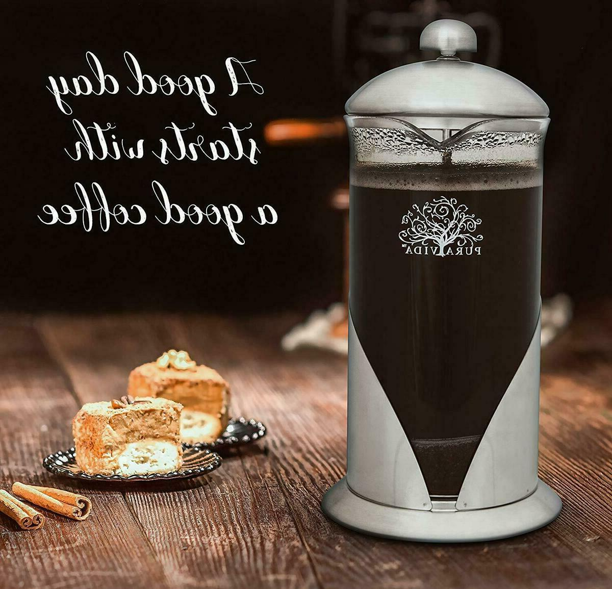 Pura Coffee Set, Ounce 2 Luxury Mugsl Filtration