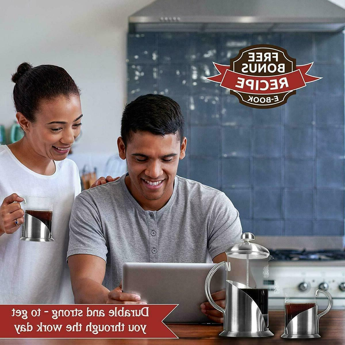 Pura Vida French Press Coffee Ounce Mugsl Filtration