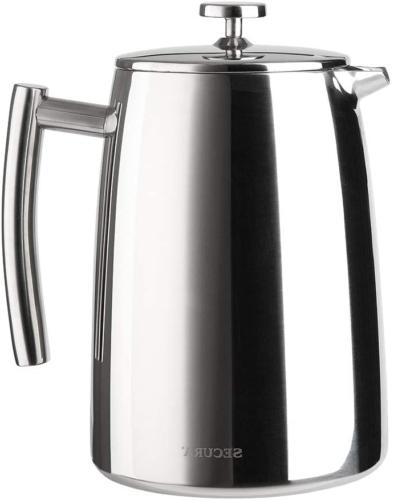 french press coffee maker stainless steel 1500ml