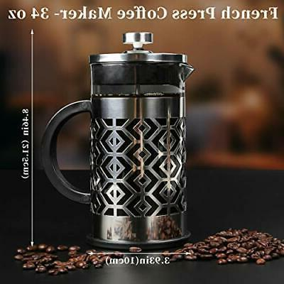 French Coffee Resistant Borosilicate Gl