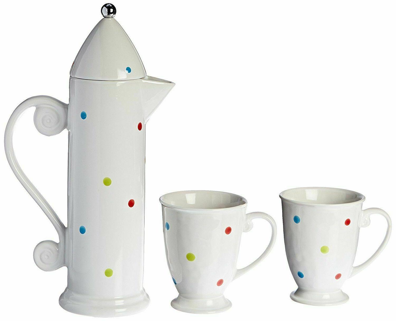 french press set 3 piece set mugs