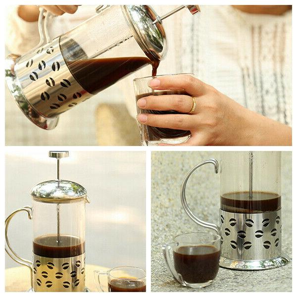 French Proof Coffee w/ Stainless Steel 12.35