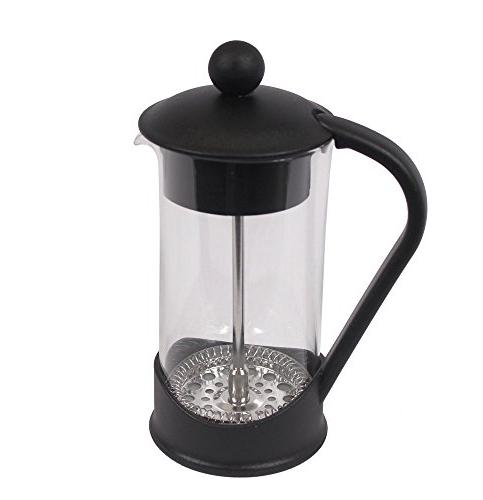 French Press Single Coffee Maker Chef | Press Perfect for Coffee | Maximum Flavor Coffee Brewer With Filtration 2 Cup Capacity