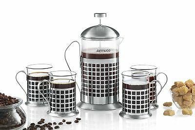 Gourmia Coffee Maker ml French Press Brewer