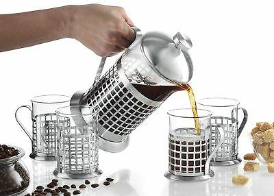 Gourmia Coffee Set ml French Press Coffee Brewer