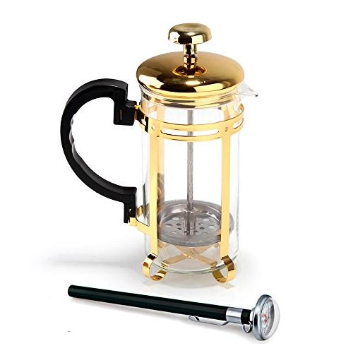 glass coffee cup maker cafetiere