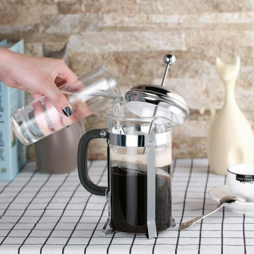 ICOCO Glass Coffee/Tea Press 8