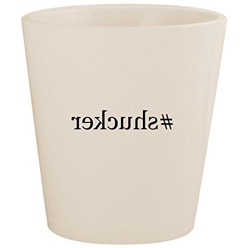 hashtag ceramic shot glass