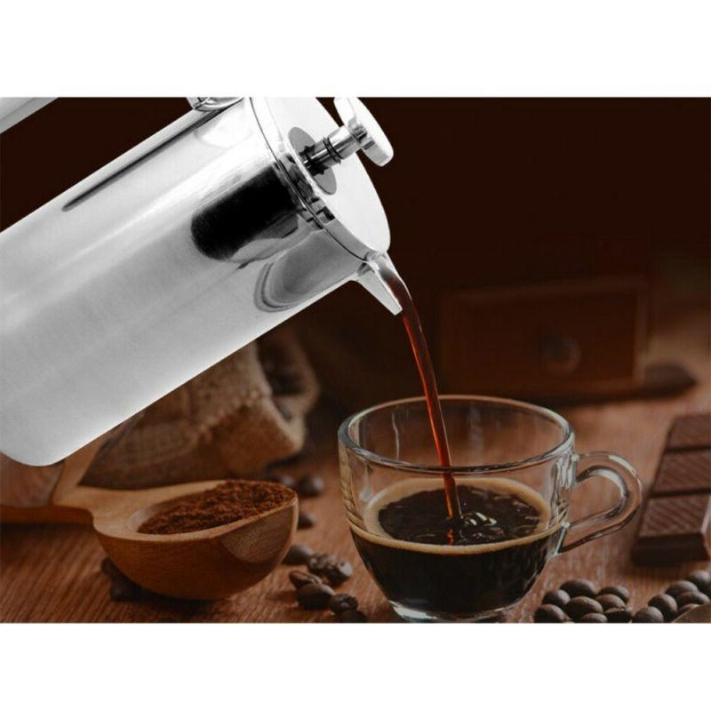 Stainless Press Coffee Maker Walled Kitchen