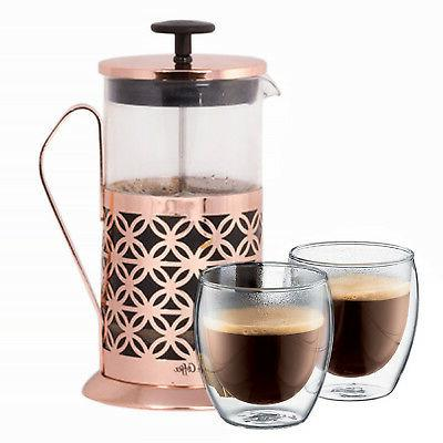mr coffee copper 32 oz french press