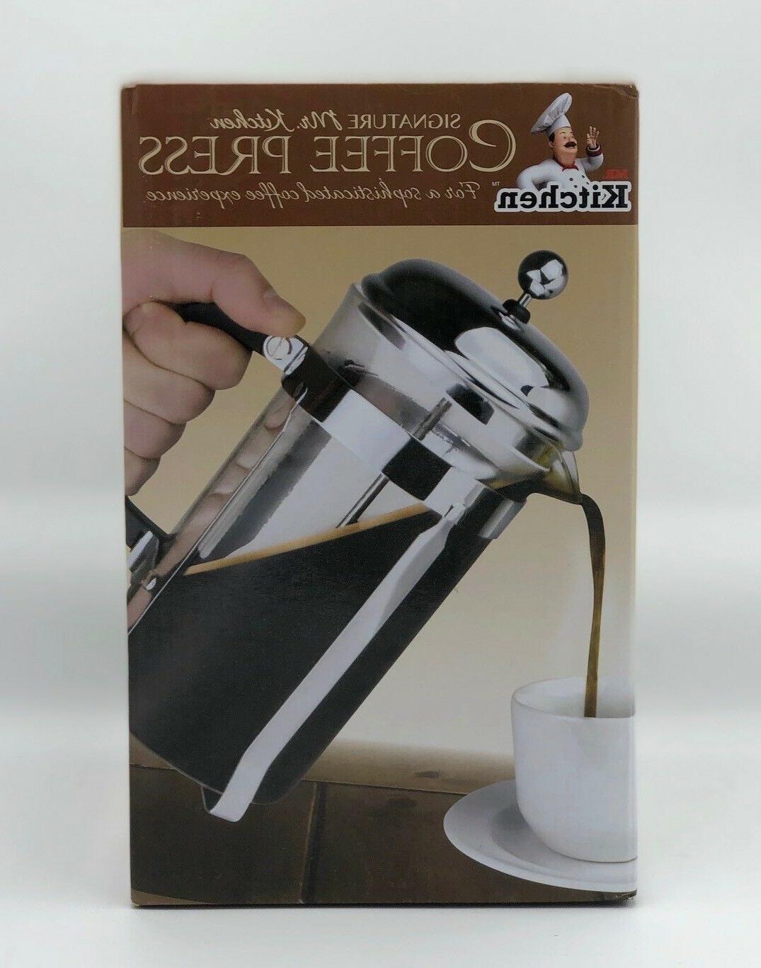 mr kitchen french press glass