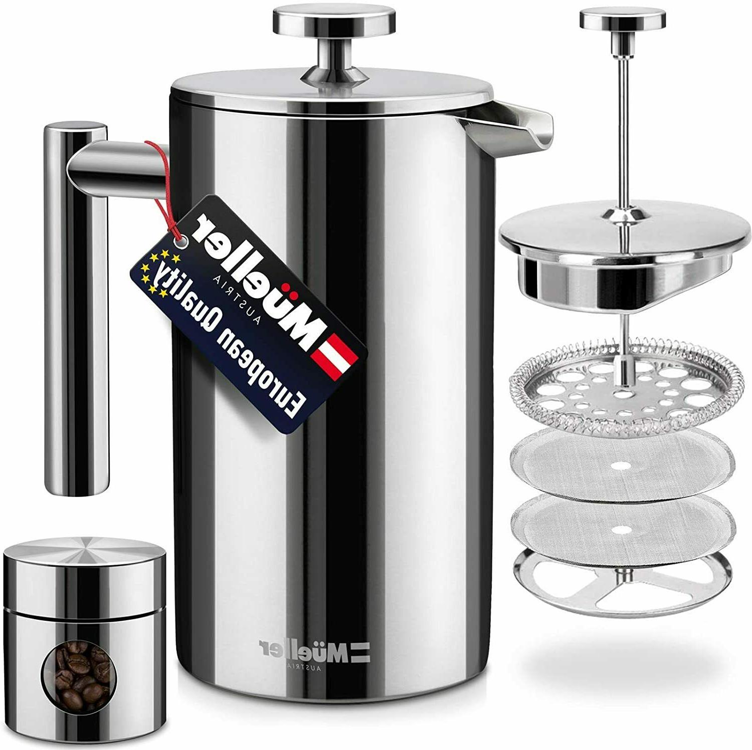 mueller french press double insulated 310 stainless