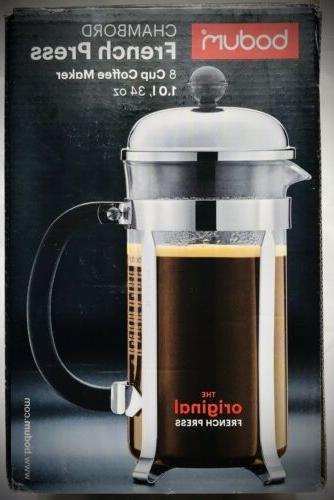 Original French Press Maker Oz 1 Liter