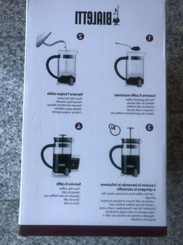New Coffee French Press Black Modern