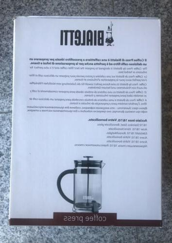 New French Press ,Tea ,Coffee , .51 12Cups