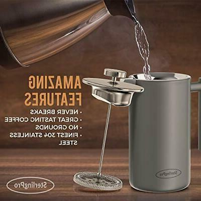 New Press Coffee Walled Coffee Press