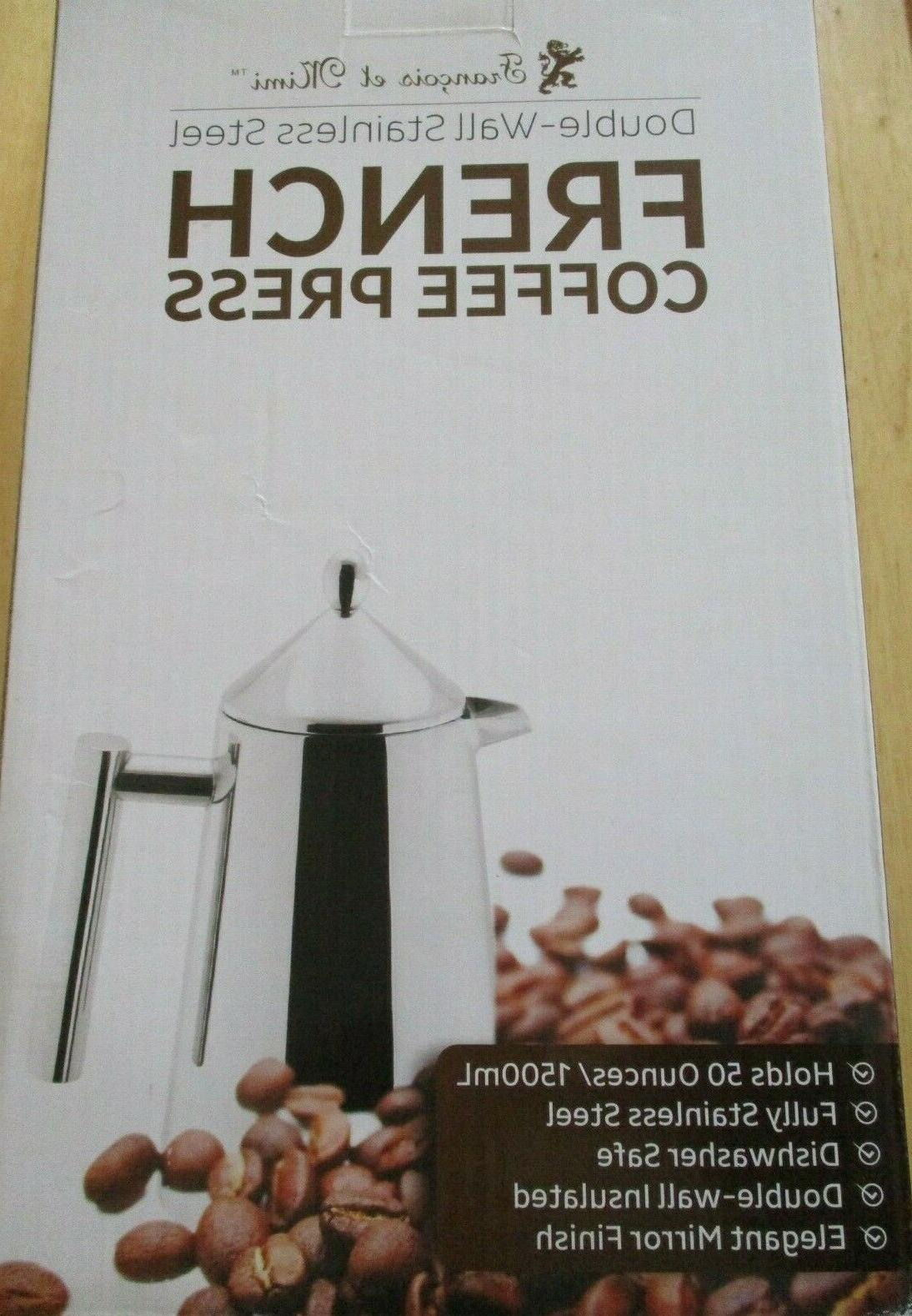 NEW IN Francois et Mimi Double Coffee Press