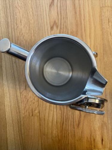 NWOB FRANCOIS MIMI STAINLESS STEEL COFFEE PRESS 48 OZ.