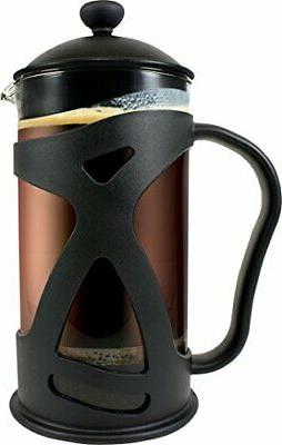 coffee maker french press double