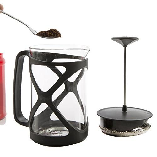 Primula Coffee 6 Cup , Black