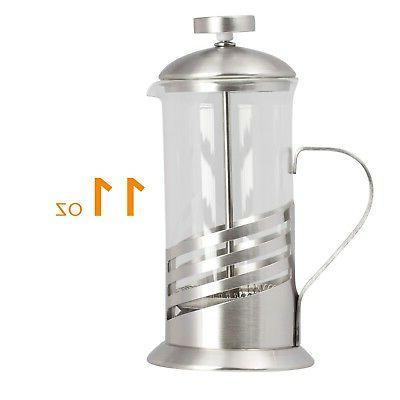 Single French Press - 11 Oz. & Tea -