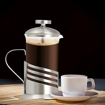 Single Cup French - 11 Oz. Coffee & Tea Maker - Wave