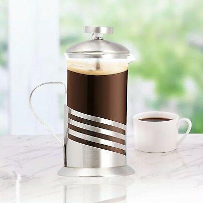 single cup french press 11 oz coffee