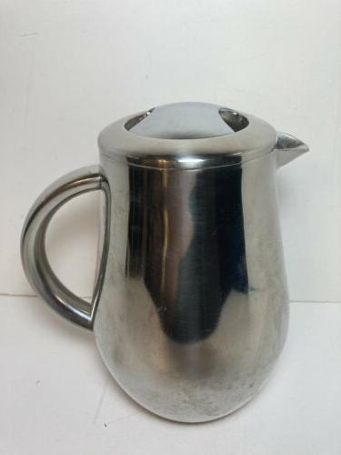 stainless french press double wall coffee maker