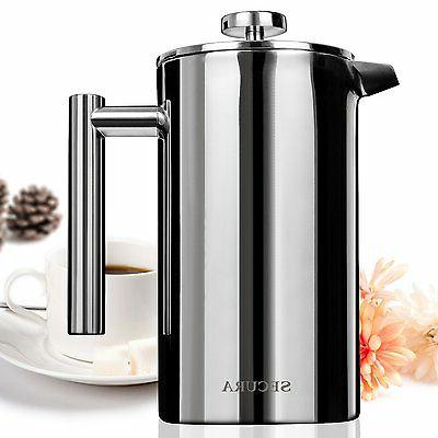 stainless steel french press coffee makers 18