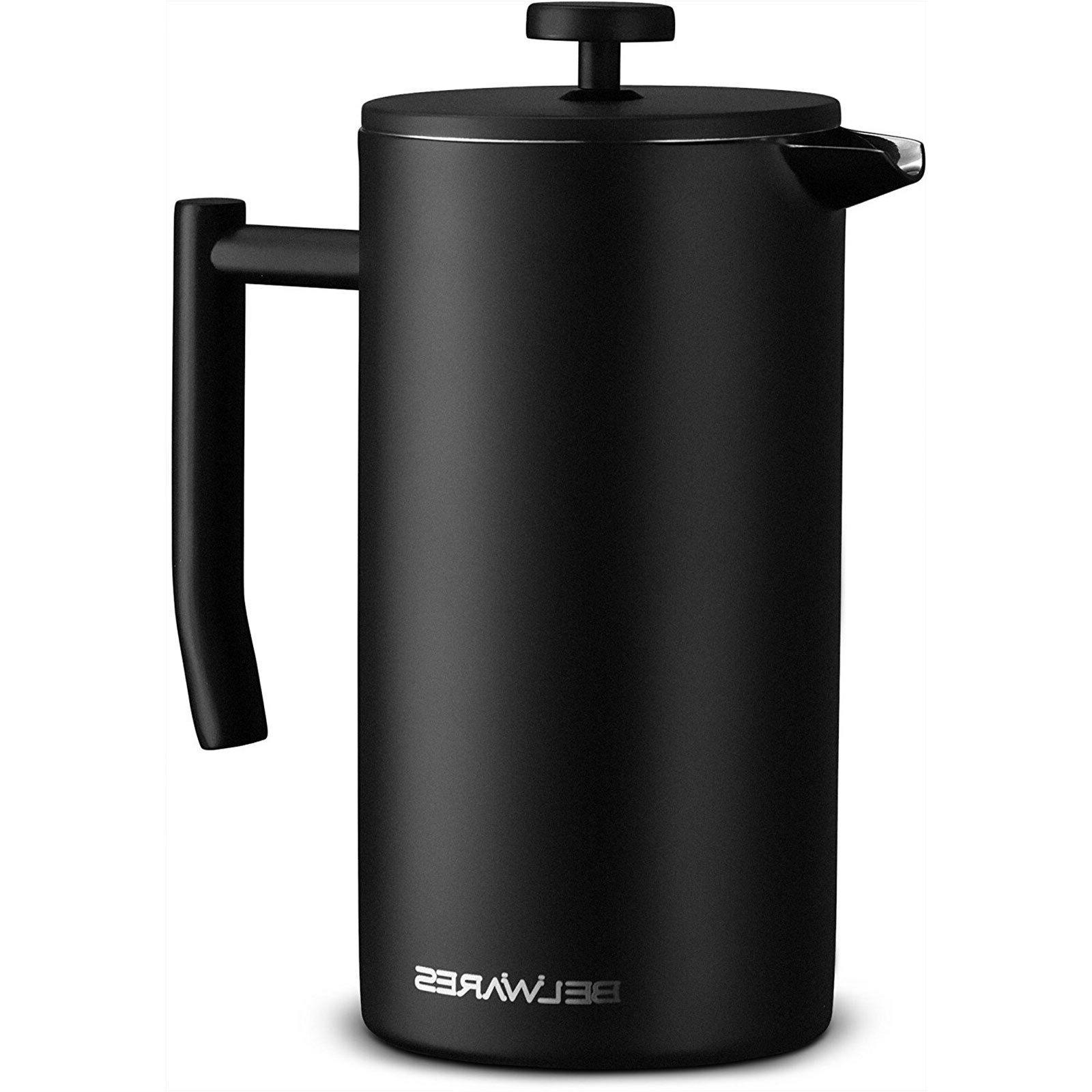 Belwares Steel French Coffee Maker with