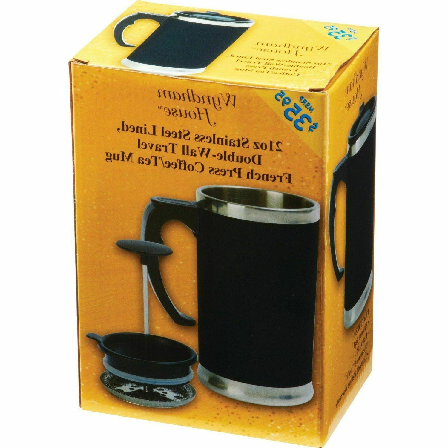 Stainless Lined FRENCH Wall Tea Maker