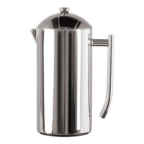 Frieling USA 130 Double Wall Stainless Steel French Press Co