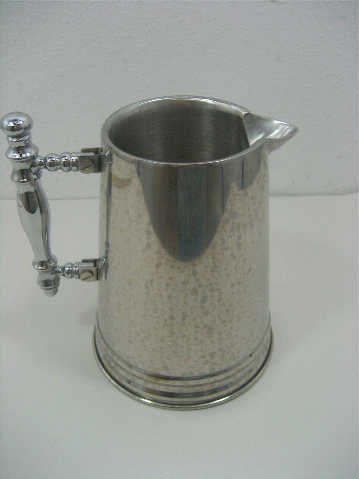 vintage stainless steel coffee press by