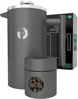 Large French Press Stay Hot Coffee Maker Vacuum Insulated St