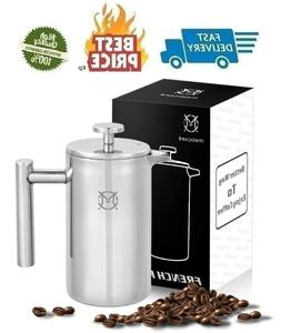 Magicafé French Press Coffee Maker – Single Serve 1 Cup S