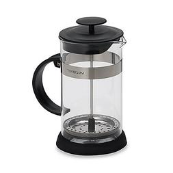 Mr. Coffee Manual 4-Cup Coffee French Press Made of Sturdy S