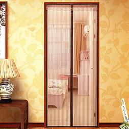 XJ&DD Mosquito curtain,Magnetic screen door,Net mesh screen