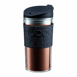 Bodum Medium 12-Ounce Travel Mug, Black