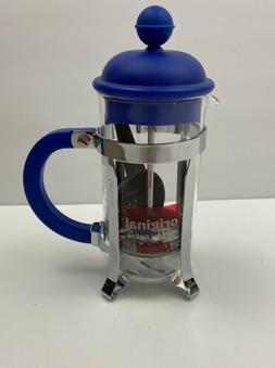 Navy Blue Bodum French Coffee Press Small