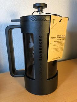 NEW, STARBUCKS 8 CUP FRENCH PRESS BY BODUM, Plastic Beaker,