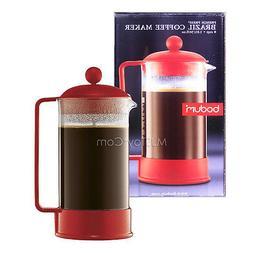 NEW Bodum Brazil Coffee Maker Shatterproof  8-Cup/34 0z Fren