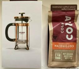 New Costa Single Origin Colombian Coffee And French Press Se
