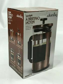 NEW Primula Melrose 8 Cup Coffee Press - Copper - French & A