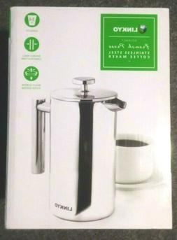 LINKYO  Stainless Steel French Coffee Press